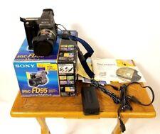 NIOB Sony MVC-FD95 Mavica 2MP Digital Camera with 10x Optical Zoom