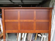 Tall Modern Queen Size Headboard Squares Geometrical Contemporary Country