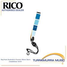 Rico Saxophone Strap True Blue - Soprano / Alto