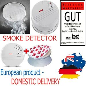SMOKE DETECTOR Fire ALARM Loud Photo Electronic Protector Toddler Baby SAFETY