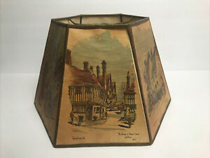 VINTAGE PHILIP BAWCOMBE LAMPSHADE~RARE!