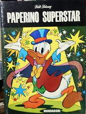 Paperino Superstar Walt Disney cartonato 1976 ed. fuori commercio