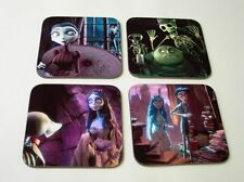 Tim Burton's Corpse Bride COASTER Set #1