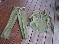 Original Vintage Boy Scout Uniform Shirt only