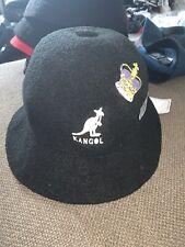 NWT SAMPLE KANGOL X  TAKEO KIKUCHI BERMUDA CASUAL Bucket Hat Sz L BLACK 2015
