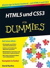HTML5 und CSS3 für Dummies Karlins, David und Judith Muhr: