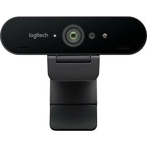 Logitech BRIO Ultra HD Pro 4K Webcam HDR Windows Hello support 5X HD Zoom CK