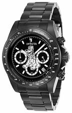 Invicta 24399 Men's Disney Black Dial Black IP Steel Chronograph Dive Watch