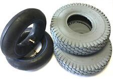 4.10/3.50-6 für Elektromobil Scooter Elektro Rollstuhl 2xReifen + 2x Schlauch