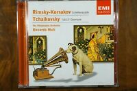 Rimsky-Korsakov - Scheherazade, Tchaikovsky - 1812 Overture, Muti  -  CD, VG