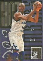 1994-95 FLAIR HOT NUMBERS SHAQUILLE O'NEAL BASKETBALL # 12 ORLANDO MAGIC
