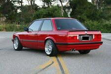 BMW E30 EARLY HECKBLENDE M3 S14 STARTEC STAR TEC LICENCE PLATE FILLER