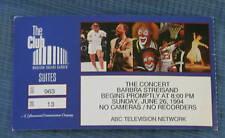 Barbra Streisand concert ticket stub  Madison Square Garden New York