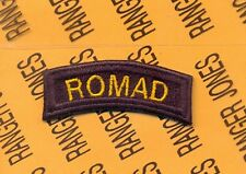 USAF Air Force ROMAD TACP CCT tab arc patch