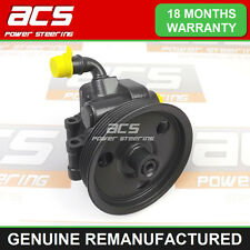 FORD KA 1.3 DURATEC 2002 TO 2009 POWER STEERING PUMP - GENUINE RECONDITIONED