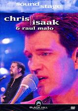 CHRIS ISAAK & RAUL MALO - Soundstage (DVD) *NEU OVP*