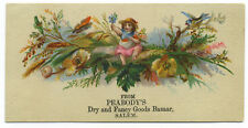 2302 Peabody's dry goods, Salem MA trade card