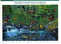 US Scott #3378 Pacific Coast Rain Forest 2nd in Series Sheet of 10 MNH