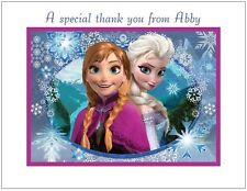 Frozen #7 ~ Personalized Note/Thank You Cards