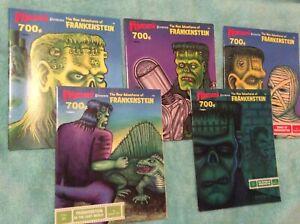 Castle Of Frankenstein Presents The New Adventures Of Frankenstein 1 2 3 6 & 8