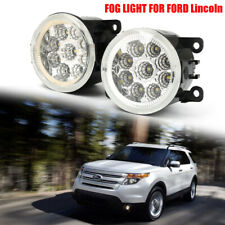 9LED Front Fog Light Driving Bumper Lamp for Ford Focus Ranger Freestyle Lincoln