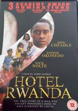 HOTEL RWANDA DON CHEADLE NICK NOLTE SOPHIE OKONEDO E.I.V. UK REGION 2 DVD L NEW