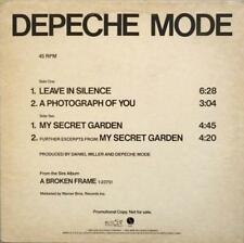 "Depeche Mode Selections From ""Broken Frame"" Sire PRO-A-1084 4-Track 12"" PROMO NM"