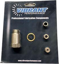 Vibrant 11621 Oxygen Sensor Restrictor Fitting Adjustable Gas Flow Inserts