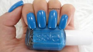 NEW! Essie nail polish lacquer in NAMA-STAY THE NIGHT ~ Energetic Goa blue