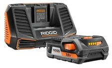 nEW RIDGID AC848695 18V Hyper Lithium-Ion Starter Kit with Battery and Charger