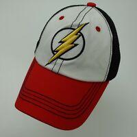 Flash DC Comics Six Flags Ball Cap Hat Snapback Baseball Adult
