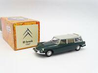 NOREV Hachette 1/43 - Citroen DS Id Break 1967 Green