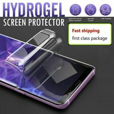 [2PK] For LG v20 v30 v50 G7 G8 Full Coverage Soft Hydrogel TPU Screen Protector