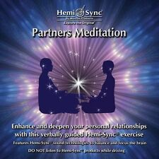 Partners Meditation Hemi-Sync Monroe Verbal New CD Self-Help 38 minutes English