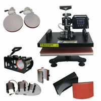 29*38CM Tshirt Mug Heat Transfer Machine 1.2KW Sublimation Combo Press Printing