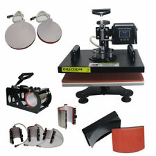 9 In 1 Sublimation Machine 29*38CM Hot Embossing Stamping T-shirt Logo Printing