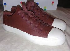 New PRO-Keds Unique Red Royal Lo Kudu Leather Sneakers Low-Top Shoe Mens Size 10