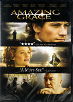 Amazing Grace NEW DVD Christian Based True Story William Wilberforce John Newton