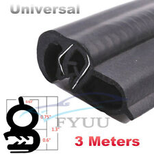 3M Vehicle Body Door Sealed Strip Weatherstrip EPDM&Steel Belt Sealing Rubber X1