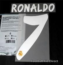 Real Madrid Ronaldo 7 La Liga Football Shirt Name Set 2013/14 Away Sporting ID