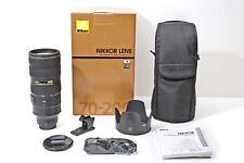 Nikon 70-200mm F2.8 G AF-S VR-II ED N 70-200/2.8 v.2+Hood+Case+USA model++SET