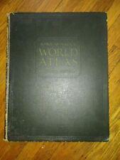 Vintage 1931 Rand Mcnally World Atlas Premier Edition - World & U.S. Maps RARE