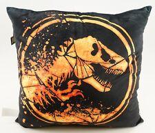 New Universal Studios Jurassic World Fallen Kingdom TREX Logo Plush Pillow