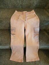 Girls Age 8 Pretty Pink Satin pocket &  Trim Trousers Age 8 Years Adams