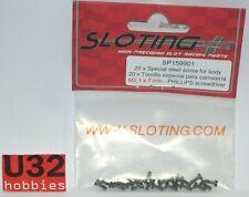 SLOTING PLUS SP159901 TORNILLO M2 x 7mm BASCULACION 20 UNIDADES