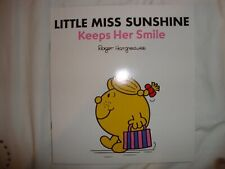 Little Miss Book - Little Miss Sunshine Keeps Her Smile - Brand New RRP £5.99