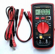 LCD Capacitance Capacitor Meter Tester Multimeter 200pF to 20mF A6013L [DORL_A]