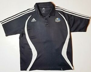 Vtg ADIDAS MLS Kansas City Wizards Sporting KC Retro Soccer Jersey Shirt Large