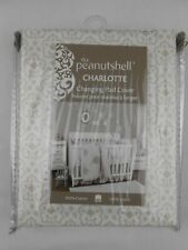 "Peanutshell Charlotte Changing Pad Cover Fits 16"" x 32"" Contoured New Nip Cotton"