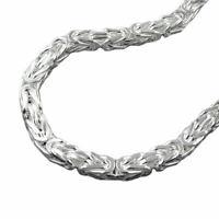 Armband, 6mm Königskette, Silber 925 23cm